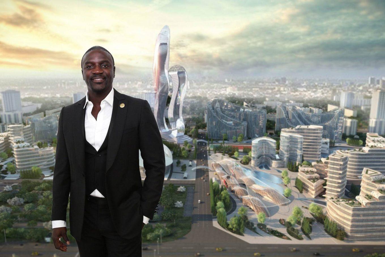 Orasul Akon, proiectul futurist de 6 miliarde de dolari