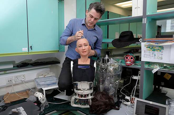 David Hanson, Sophia, Sophia the Robot, Robotics Designer, Roboticist